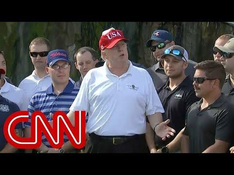 trump invites coast guard to golf