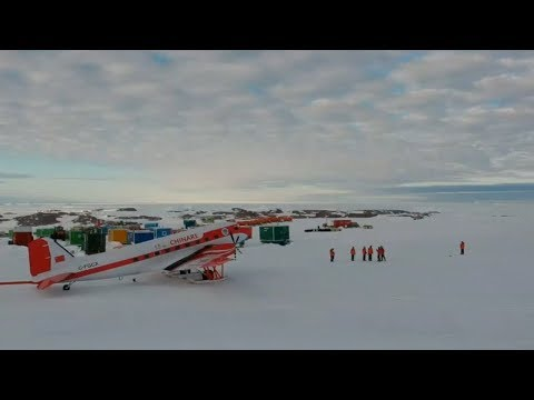 china's antarctic expedition spends new year's eve