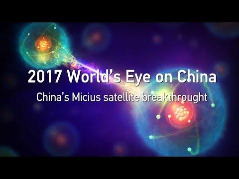 quantum breakthroughs with micius satellite