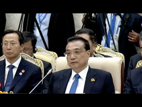 chinese premier arrives in cambodia for meeting