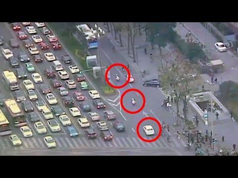 amazing video of police escort saving girls