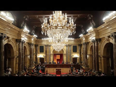 catalan parliament meets as sacked leader seeks comeback