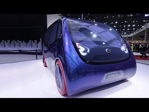 internetconnected electric concept car unveiled