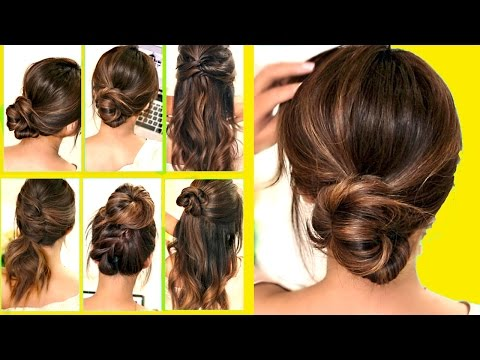 top 10 ★ lazyrunning late hairstyleshacks