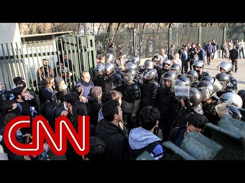 at least two killed in iran protests