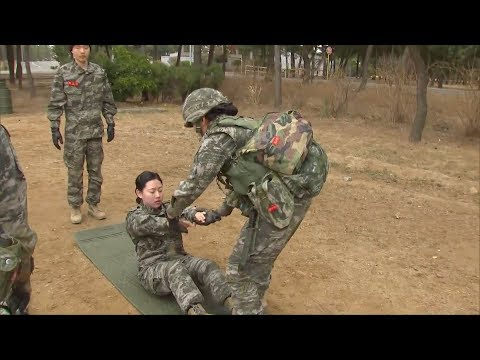 role of women in south korea's military