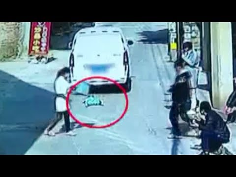 threeyearold boy survives after being run over by van