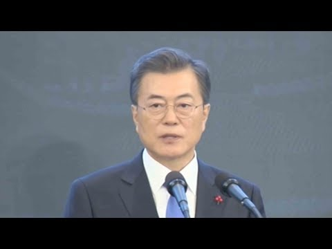 s korean president delivers speech a day