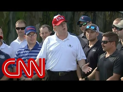 trump invites coast guard to golf