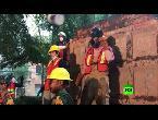 مصر اليوم - شاهد استمرار عمليات البحث عن الناجين من زلزال المكسيك