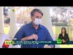 شاهد الرئيس البرازيلي يخلع الكمامة أمام الصحافيين أثناء إعلانه إصابته بـكورونا