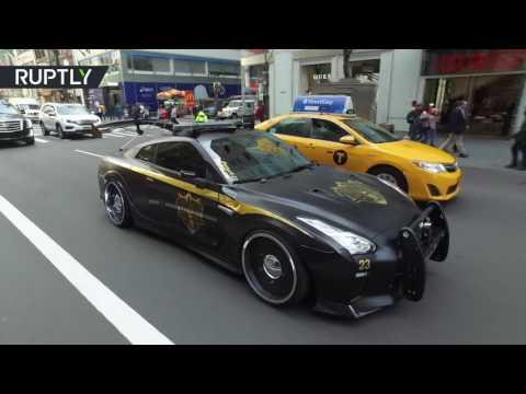مصر اليوم - شاهد سيارة شرطة خارقة تعرض في نيويورك