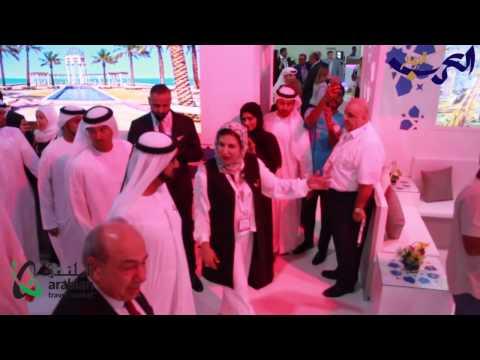 مصر اليوم - شاهد افتتاح معرض سوق السفر العربي في دبي 2017