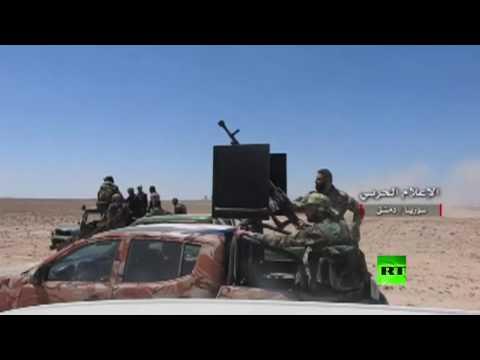 مصر اليوم - الإعلام الحربي السوري ينشر فيديو لمعارك في حي القابون شرق دمشق