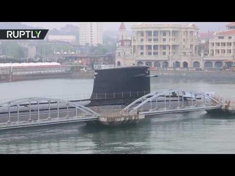 مصر اليوم - الغواصة الصينية النووية الأولى تتحول إلى متحف
