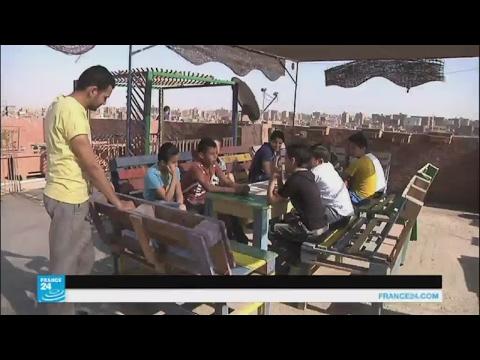 مصر اليوم - شاهد مبادرة تعليمية عصرية في أحد أحياء مصر الشعبية