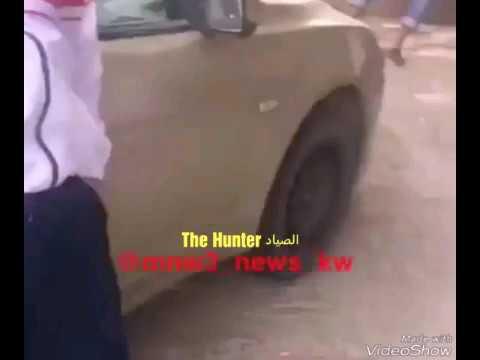 مصر اليوم - شاهد لحظة هجوم كويتية على رجل بسبب خروف