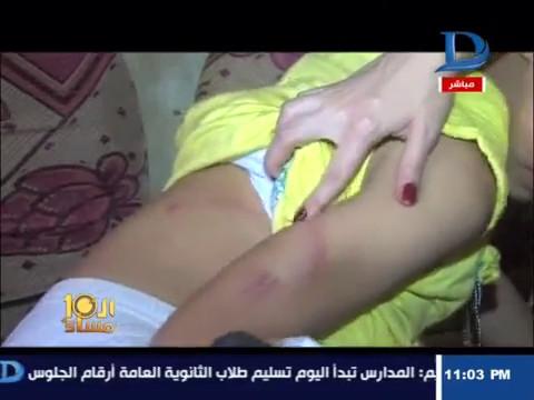 مصر اليوم - شاهد طفلة من البحيرة تروي تفاصيل اغتصابها داخل محل