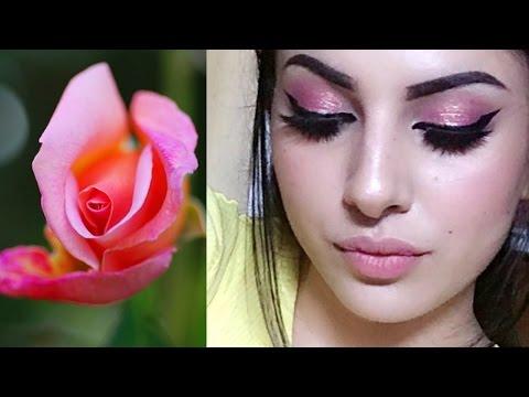 مصر اليوم - شاهد خطوات بسيطة لتطبيق مكياج الوردة المتفتحة
