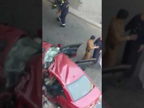 مصر اليوم - وفاة طالبين إثر حادث سير مروع في مكة