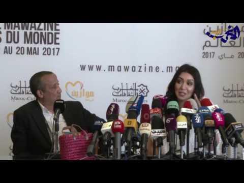 مصر اليوم - شاهد أسماء لمنور تؤكد أنها ترغب في لغناء بمفردها