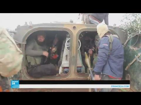 مصر اليوم - شاهد  هجوم لتنظيم داعش على قرى في حماة