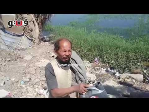 مصر اليوم - شاهد زيادة منسوب نهر النيل يغرق 150 فدانًا ببني سويف