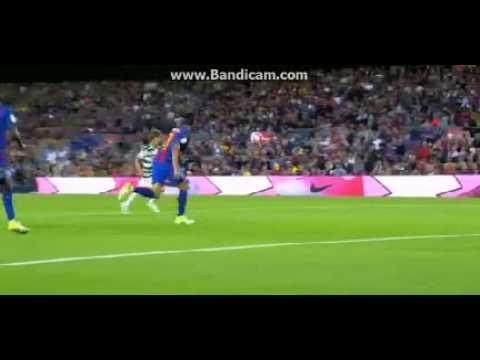 مصر اليوم - شاهد أهداف إيبار في مرمى برشلونة
