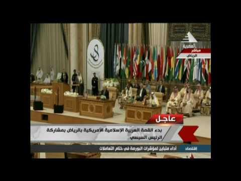 مصر اليوم - بالفيديو العاهل السعودي يؤكد أن أميركا صديقة للعرب