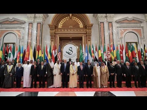 مصر اليوم - بالفيديو حصيلة زيارة دونالد ترامب إلى الرياض