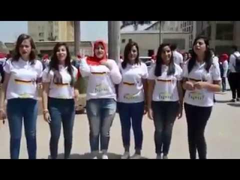 مصر اليوم - بالفيديو تخرّج دفعة ألسن ألماني على أنغام محمد حماقي