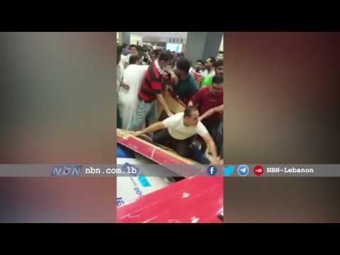 مصر اليوم - بالفيديو  تخفيضات مركز تجاري في أبوظبي تثير جنون العملاء