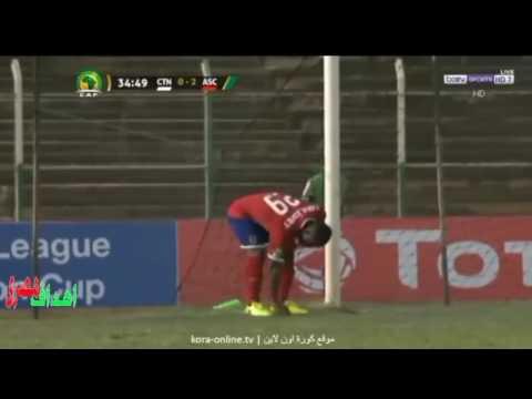 مصر اليوم - بالفيديو  ملخص مباراة الأهلي والقطن الكاميروني 20