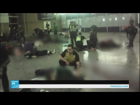 مصر اليوم - شاهد كاميرات الهاتف الجوال توثق تفجير مانشستر