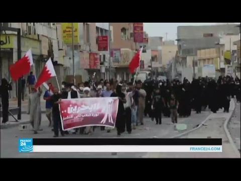 مصر اليوم - شاهد مقتل خمسة متظاهرين شيعة في بلدة الدراز