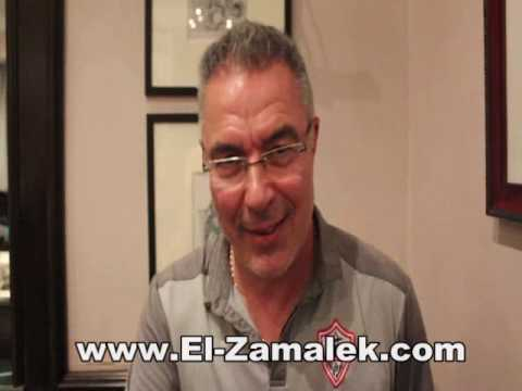 مصر اليوم - شاهد رسالة إيناسيو إلى جماهير الزمالك