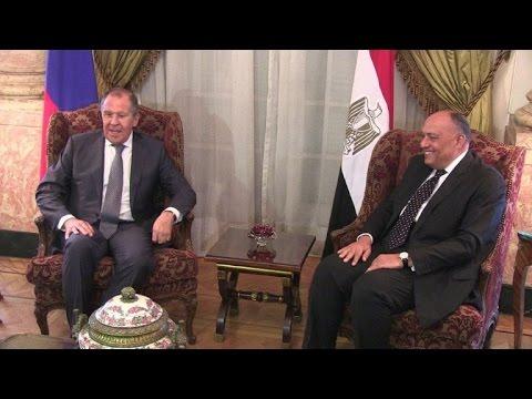 مصر اليوم - شاهد لافروف يجري محادثات في القاهرة بشأن أزمات المنطقة