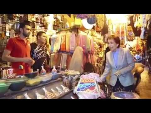 مصر اليوم - بالفيديو  الأميرة بسمة بنت طلال في جولة وسط عمَّان