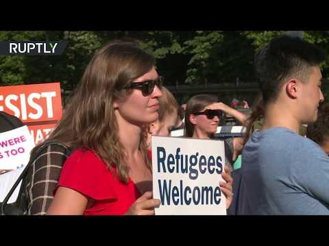 مصر اليوم - شاهد الأميركيون يرحبون باللاجئين من أنحار العالم كافة