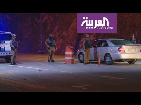 مصر اليوم - شاهد الأمن السعودي يؤمن مداخل المدينة المنورة