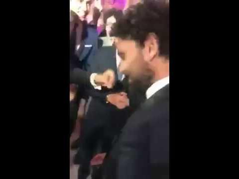 مصر اليوم - شاهد حسام غالي يشعل فرح رمضان صبحي وحبيبة اكرامي بالرقص