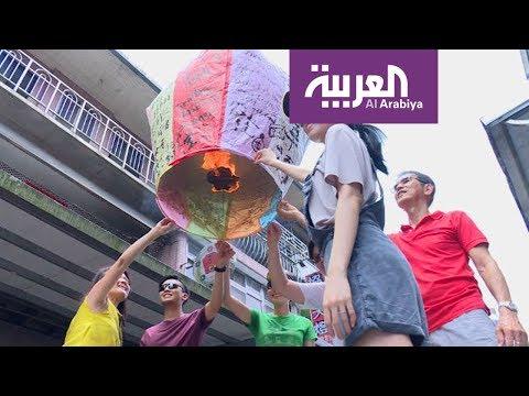 مصر اليوم - شاهد فوانيس مصنوعة من ورق وخيزران وقطن في تايوان