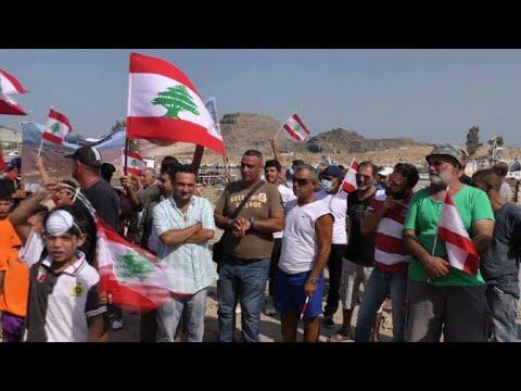 مصر اليوم - شاهد تظاهرة لصيادي السمك في بيروت