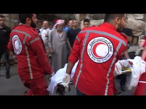 مصر اليوم - شاهد خمسة قتلى على الأقل في قصف للفصائل في حلب