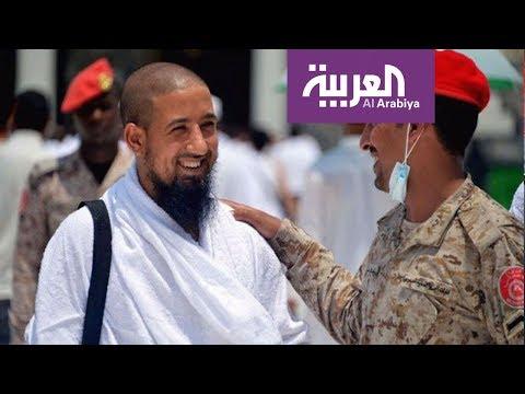 مصر اليوم - شاهد العاملون في القطاع الأمني والخدمي والصحي يرعون حجاج بيت الله