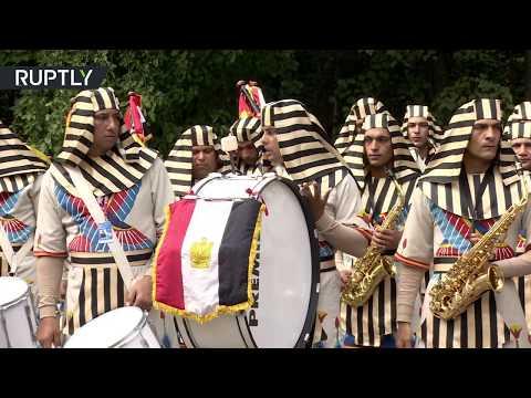 مصر اليوم - شاهد الموسيقى المصرية تجذب جمهور موسكو