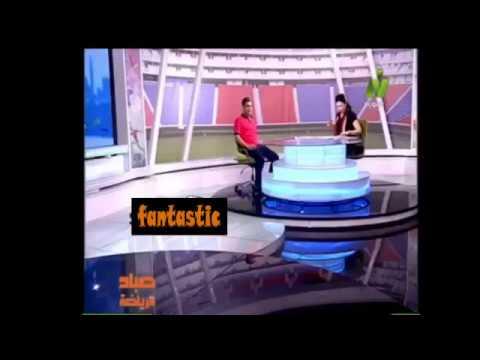 مصر اليوم - شاهد موقف طريف لمذيعة النيل للرياضة على الهواء مباشرة