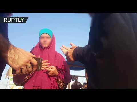 مصر اليوم - شاهد  الكشف عن صور جديدة لنزلاء مخيّم سري في العراق