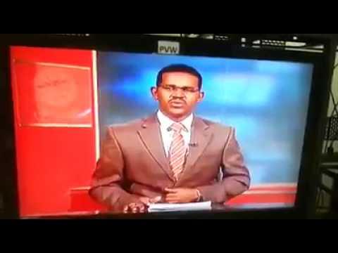 مصر اليوم - مذيع سوداني يفاجئ المشاهدين في نشرة الأخبار