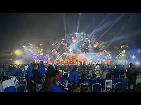 مصر اليوم - شاهد مهرجان للنجوم الآسيوية في ألماتي